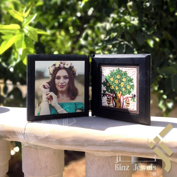 Personalized Wooden Open Book Tree Of Life Frames - in Jordan