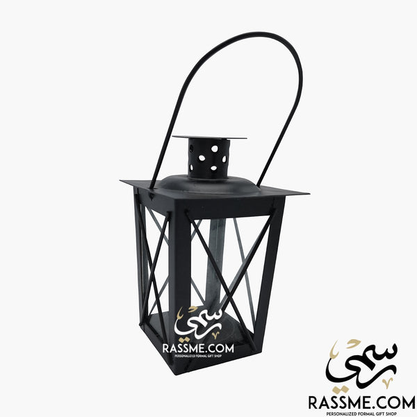 Small Transparency Cube Lantern Glass - Desk / Candle - Rassme