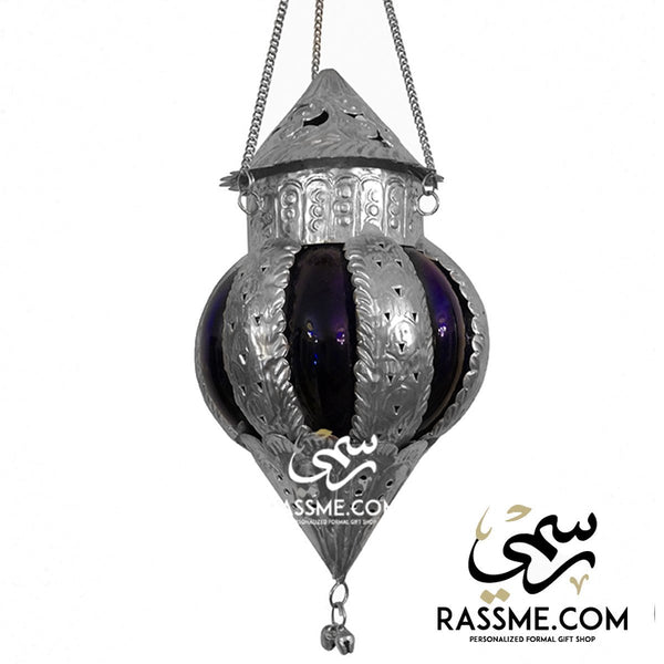 Personalized Candle 5 Colors Glass Arabian Lantern Antique - Free Engraving - in Jordan