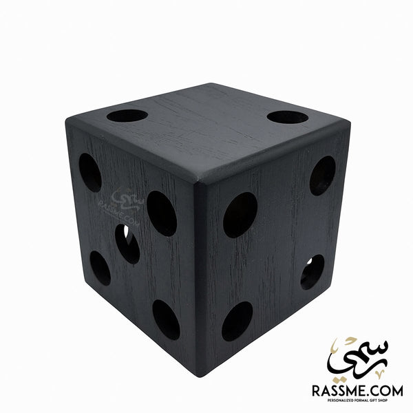 Wooden Pens Holder Dice - Free Engraving - in Jordan