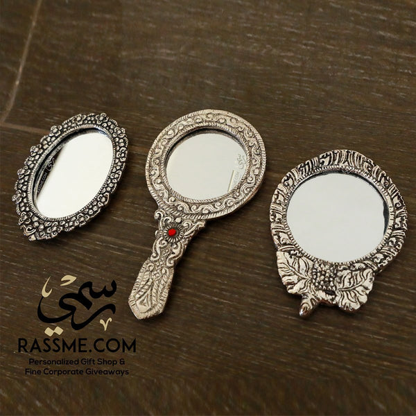 Personalized Portable Vintage Small Mirror