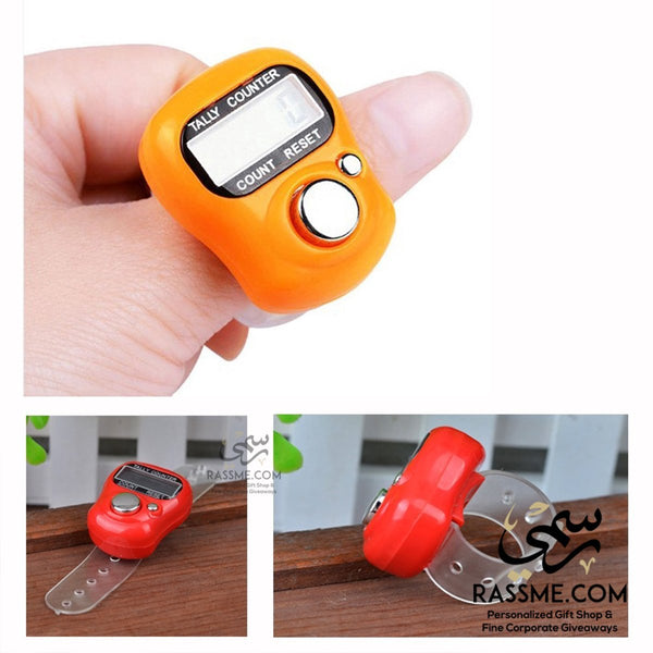 Electronic Digital LCD Finger Tally Counter Prayers - Rassme