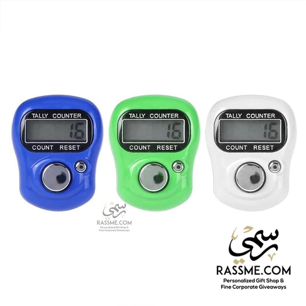 Electronic Digital LCD Finger Tally Counter Prayers - in Jordan