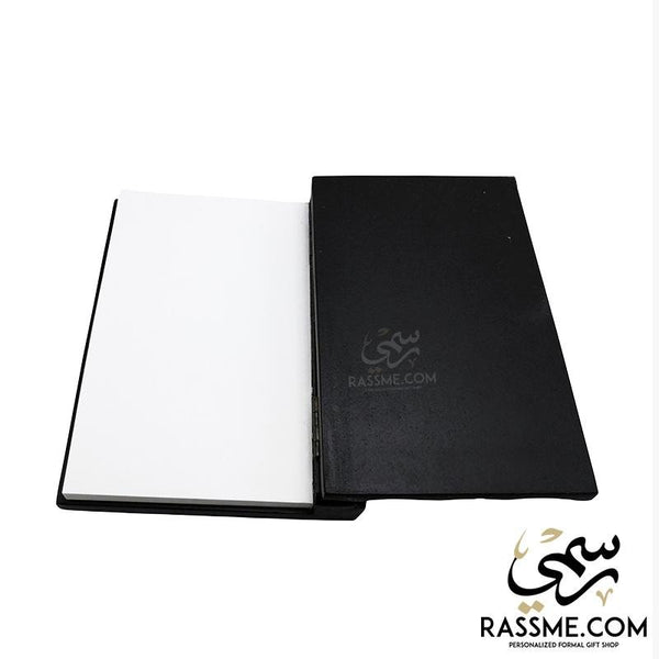 Small Wooden Notebook - Free Engraving - in Jordan