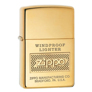 Personalized High Polish Gold Windproof - Zippo Lighters In Jordan - Rassme