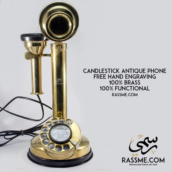 Antique CandleStick Phone - in Jordan