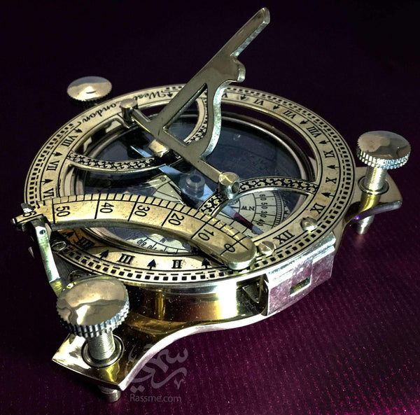 Astrolabe with Compass Solid Brass - Rassme