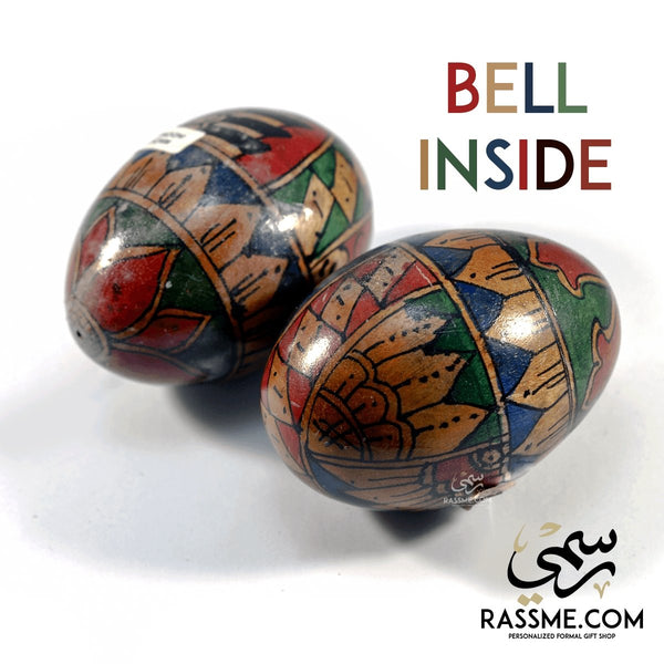 Egg With Bell Inside - Indonesian Made - in Jordan