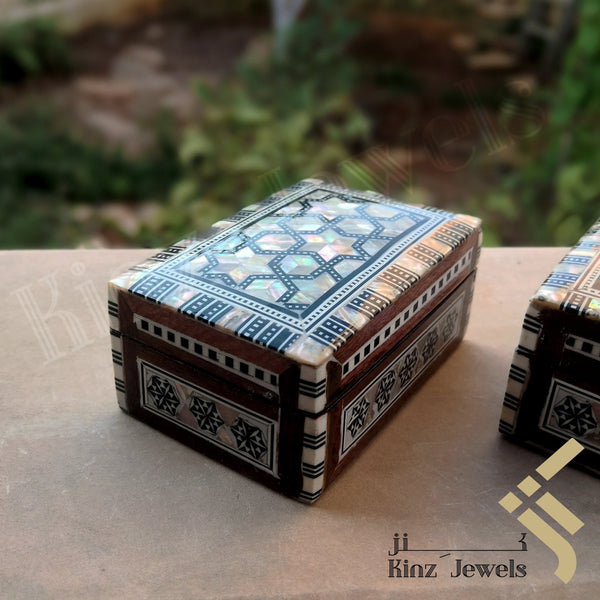 Handcrafted Premium Mosaic / Arabesque Mother Of Pearl Box