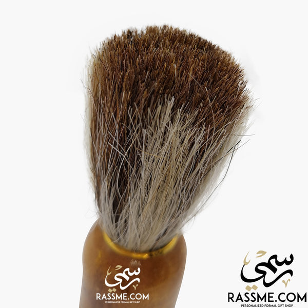 Personalized High Quality Wooden Shaving Brush - Free Engraving