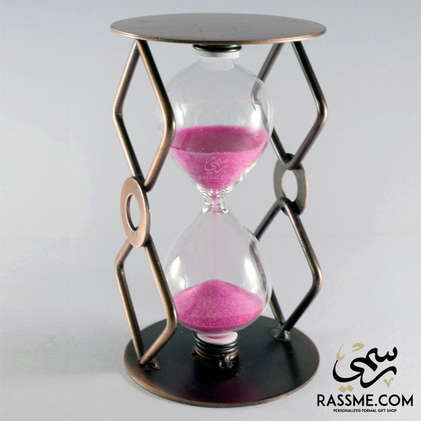 Hourglass Sand Clock Brass - Rassme