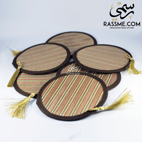 Traditional Coaster 6 pcs - in Jordan