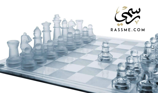 Crystal chess - Free Hand Engraving - رسمي, afghani, rassmi, rassme , Alafghani, Personalized Gifts, customized gifts, delivery Jordan, giftshop, gift ideas, gift ideas in Jordan, best gifts, Corporate gifts, giveawas, top gifts, gift for him, gifts for her, Giftshop near me, رسمي, هدايا رسمية, هدايا شركات, Rasme, Rasmi, موقع رسمي