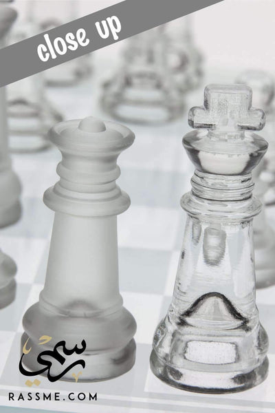 Rassme Crystal chess - Free Hand Engraving Giveaways in Jordan