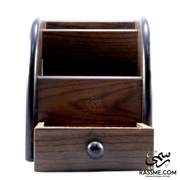 Wooden Desk Organizer - in Jordan