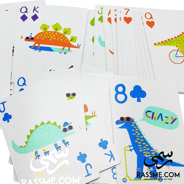 The Famous Crazy 8's Fun Playing Cards
