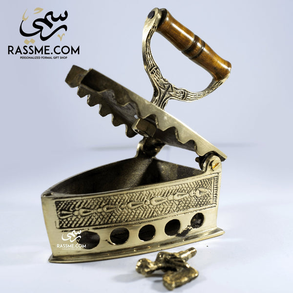 Solid Brass Iron Wooden Handle - Rassme