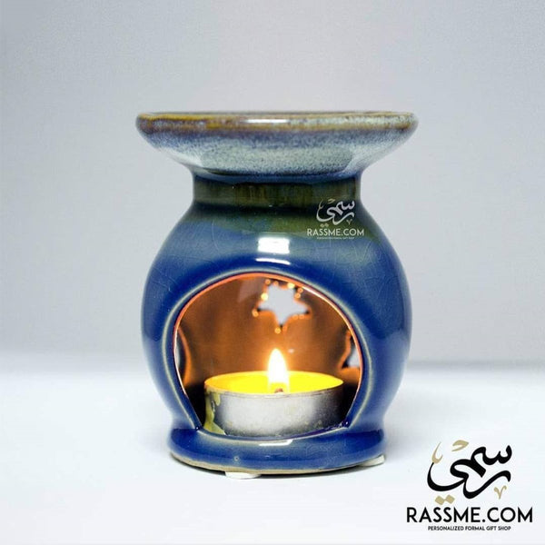 Tealight Candle Holder Essential Oil Incense Warmer - Rassme