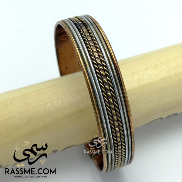Solid Copper Magnetic Negative Ions Bracelets - in Jordan