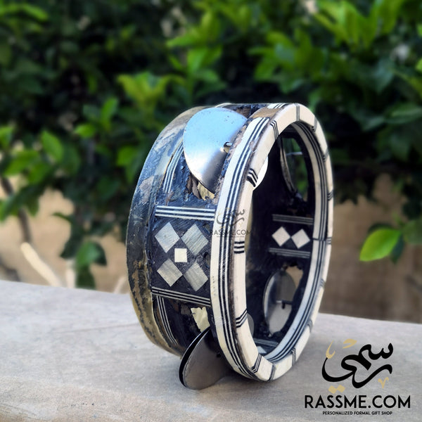 Handcrafted Arabian Daf Music - Free Hand Writing - in Jordan