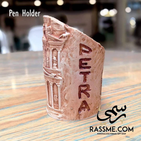 Souvenirs from Jordan Pen Holder Petra - in Jordan