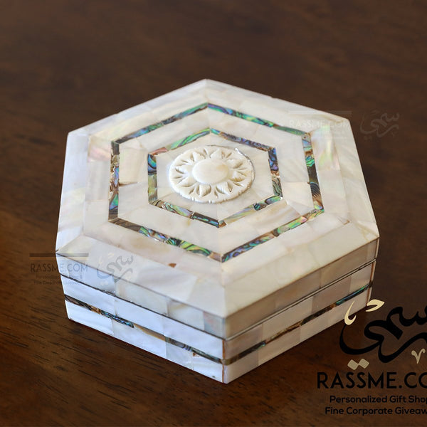 High Quality Handcrafted Bethlehem Mother Of Pearl Box - in Jordan