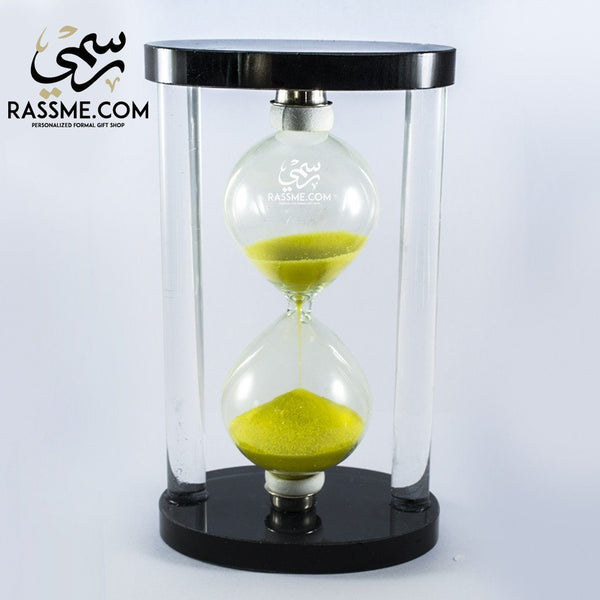 Hourglass Sand Clock Big Glass - Rassme
