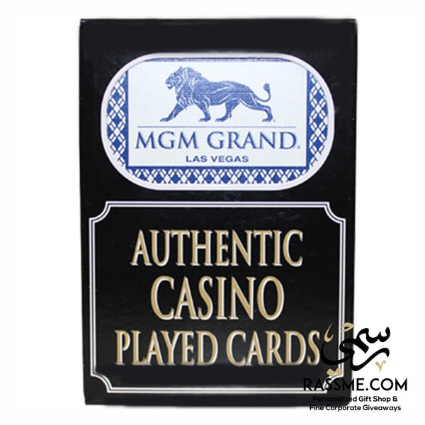 Genuine Authentic Casino Played Cards Live Las Vegas