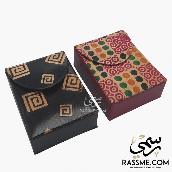 Leather Patterns Cigarette Pack Case Cover - in Jordan