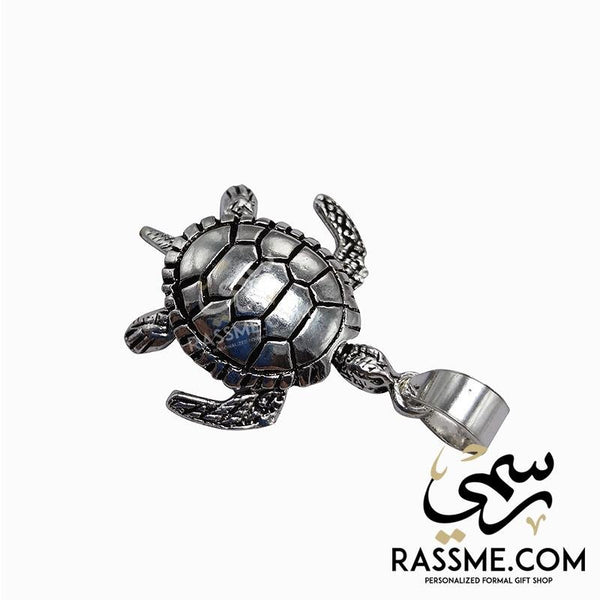 Highest Quality Of Silver 925 Turtle Pendant - Rassme