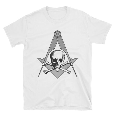Skull, Square & Compass - Free Masonic Ring Shirts - Masonic Jewelry Free Masonic Ring - FreeMasonicRing.com