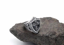 Knights Templar Shield Ring - Free Masonic Ring RING - Masonic Jewelry Free Masonic Ring - FreeMasonicRing.com
