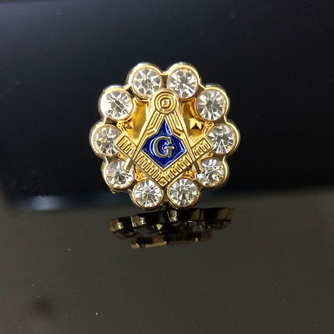 Freemason Pins 13 Variants - Free Masonic Ring  - Masonic Jewelry Free Masonic Ring - FreeMasonicRing.com