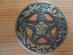 Eastern Star Masonic Car Emblem - Free Masonic Ring Car Emblem - Masonic Jewelry Free Masonic Ring - FreeMasonicRing.com