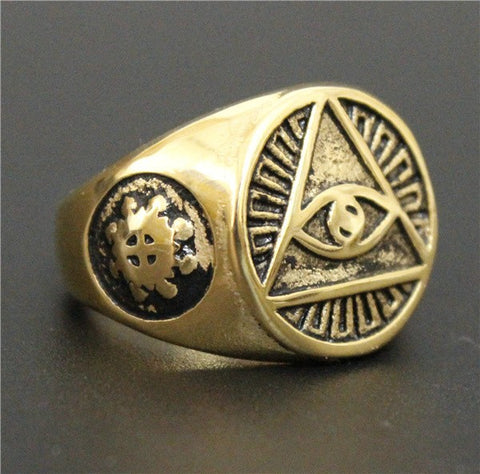 Antique Styled All Seeing Eye