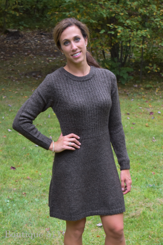 Espresso Sweater Dress