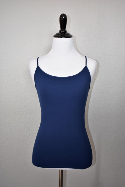 Navy Solid Camisole