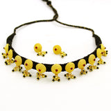 BLACK THAREAD DESIGNER NECKLACE