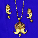 TEMPLE HATTIDANT DESIGNER NECKLACE