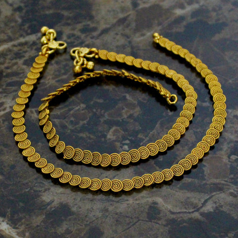 ANTIQUE COIN PAYAL