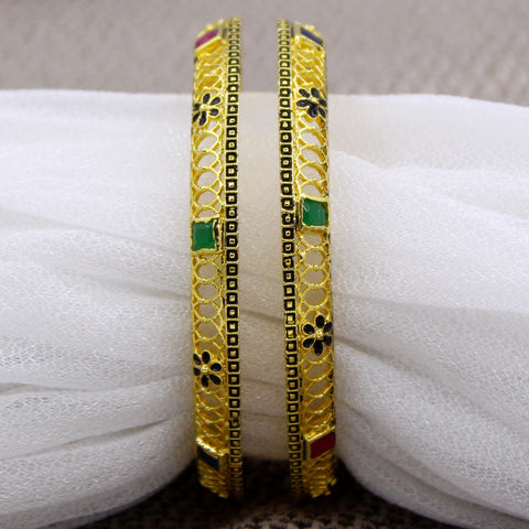 MULTI COLOUR JALI BANGLES