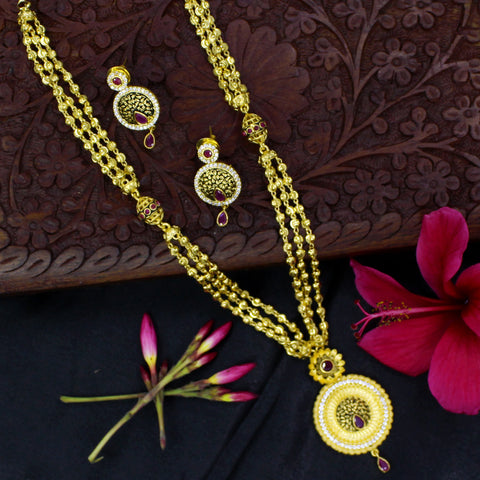 FLORAL DESIGNE NECKLACE