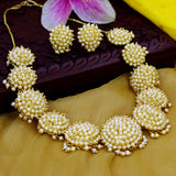 PEARL KUDI DESIGNER NECKLACE