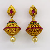PINJARA TEMPLE EARRINGS