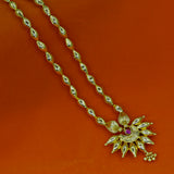 EK DANI WITH CHANDRAKOR PENDENT NECKLACE