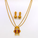 MORNAKSHI LAXMI PENDANT SET