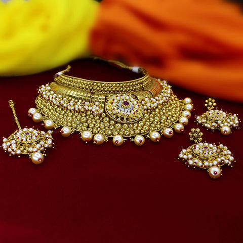 BRIDAL DESIGNER NECKLACE SET
