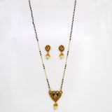 TRANGLE  ANTIQUE MANGALSUTRA