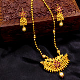 CHANDRAKOR PEACOCK DESIGN NECKLACE