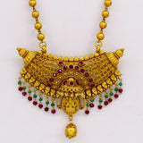 HALF MOON PESHWAI NECKLACE